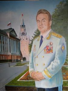 Портрет брата Владимира Гавриловича холст,масло 100х80