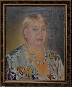 Портрет Нины Васильевны, холст, масло,  50Х40, 2016г.