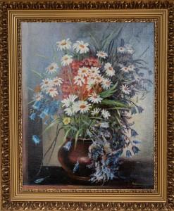 Полевые цветы, холст, масло,  50Х40, 2012г.