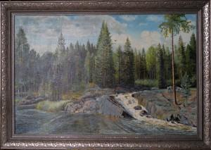 Карелия Рускеальский водопад