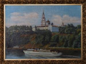 Валаам. Свято-Преображенский Собор, холст, масло, 60Х40, 2010г.