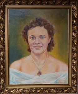 Портрет жены, холст, масло,  50Х40, 2013